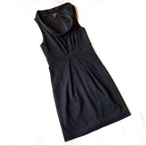 BCBG Paris Black Midi Dress 4